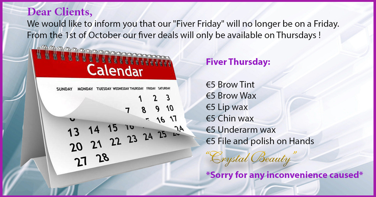 Fiver Friday Cancel